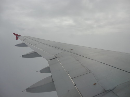 Voando para a LABACE...