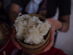 Sticky Rice, Vangmekong, Vientiane