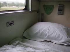 Bed, Train 69 from Bangkok to Nong Khai