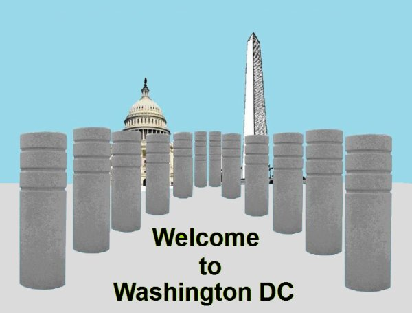 Washington, City of Bollards