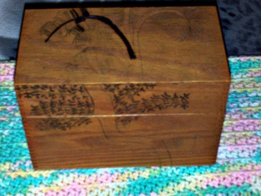 Wood Burning Palm Trees On A Box