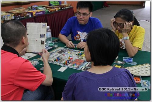 BGC Retreat 2011 - Game Six
