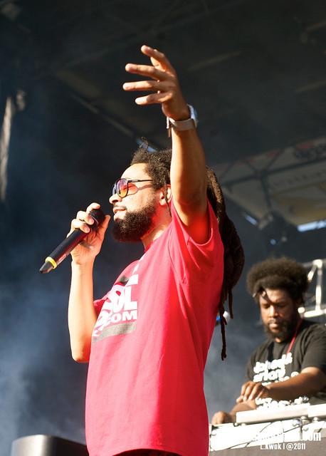 ?uestlove DJ Set @ LouFest 2011