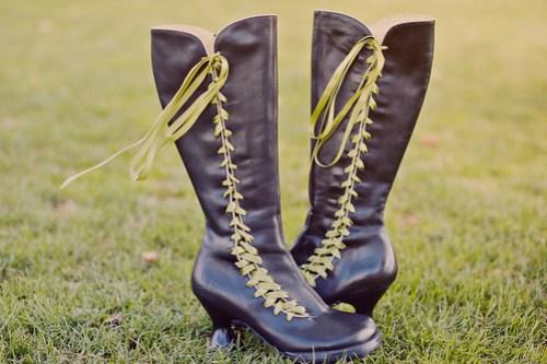 Wedding shoes by Fluevog!