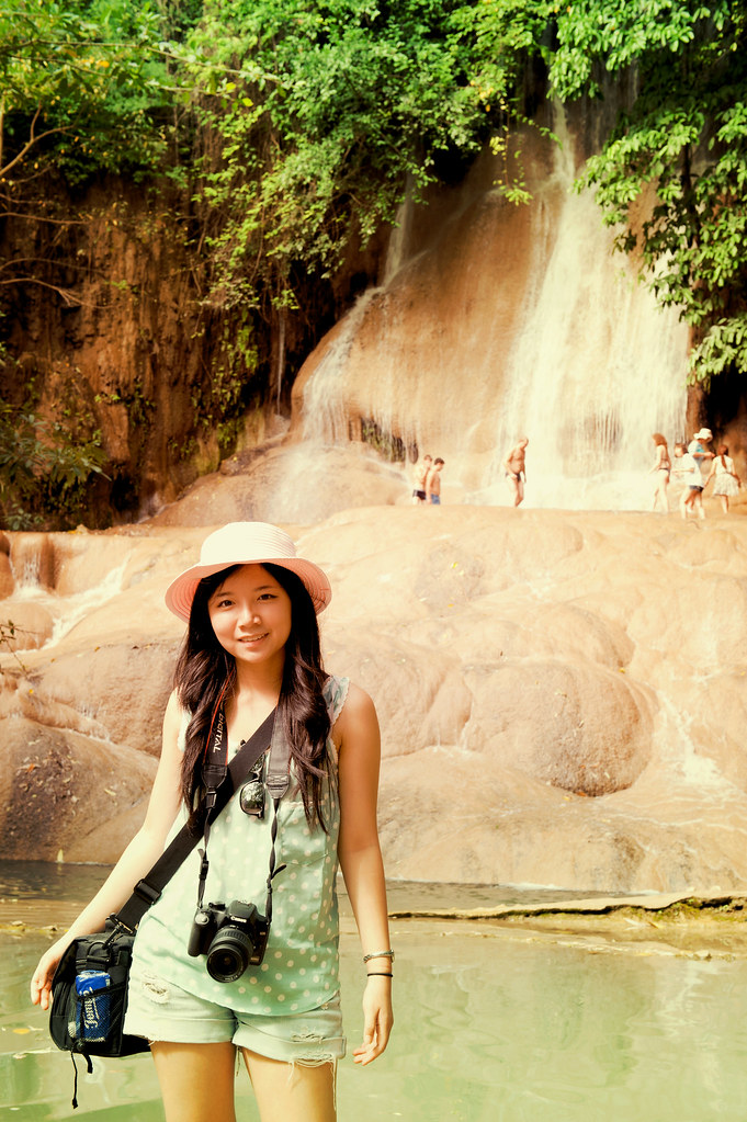 Me in front of the waterfall ^_^