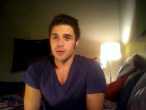 Kris Allen sophomore album update screen capture picture 29
