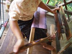 Silk Weaver, Ock Pop Tok, Luang Prabang