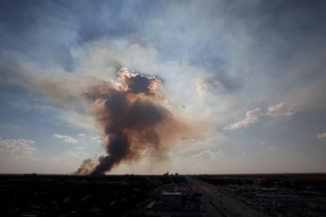 2011 09 13 George Bush Park Fire Houston
