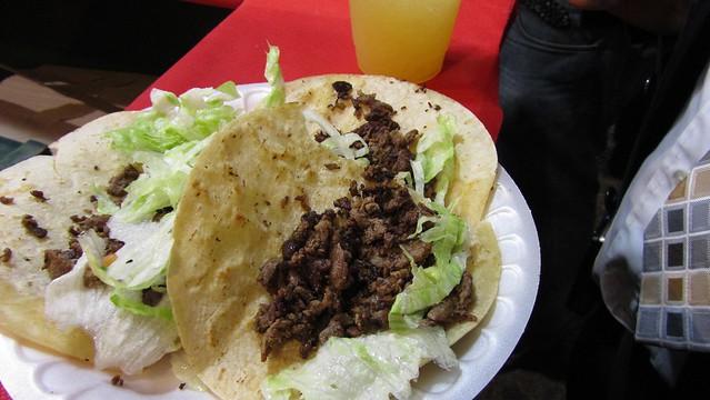 feast of san gennaro. tacos.