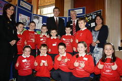 Education Minister John O'Dowd at Anti Bullyin...