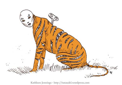 Illustration Friday: Stripes