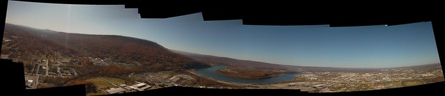 Chattanooga/Lookout Mountain balloon panorama
