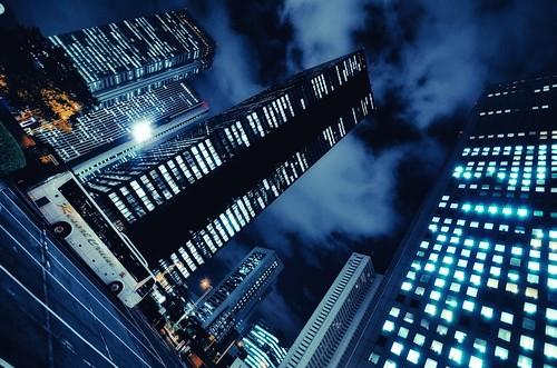 Shinjuku Mitsui Building, Shinjuku, Tokyo by hidesax