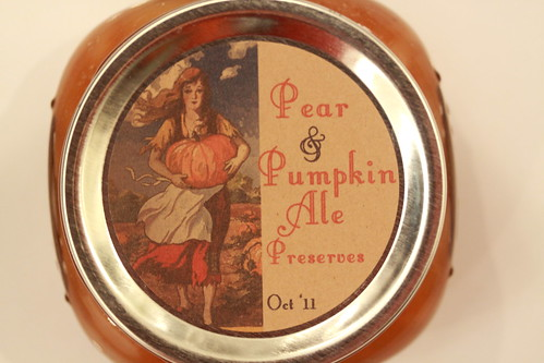 Pear and Pumpkin Ale Preserves Cinderlla Edition