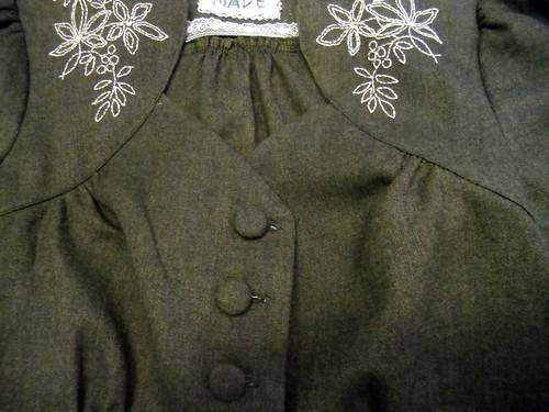 wool ceylon - buttons