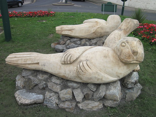 Wooden Seals, Coatham Roundabout, Redcar