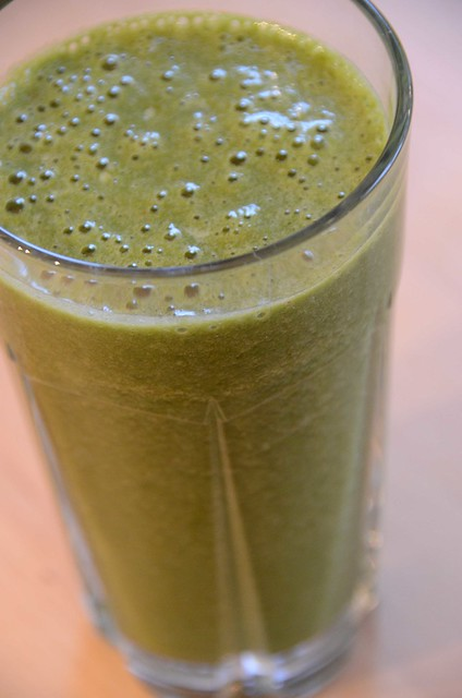 Green Drink Spinach Smoothie