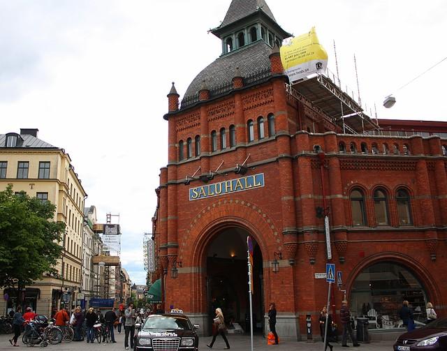 Saluhall, Oestermalm Stockholm