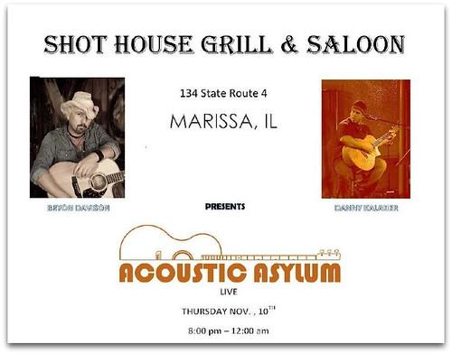 Shot House 11-10-11, 8-11
