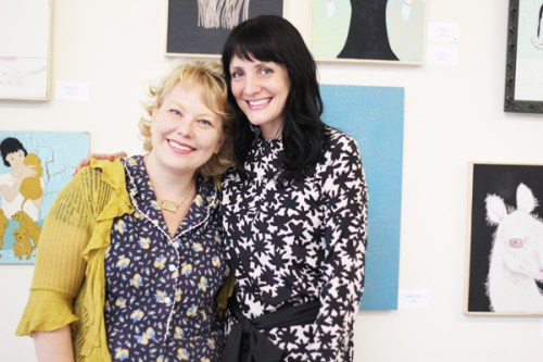 Meeting Artists Jennifer Davis + Amy Rice