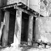 Columns and water tanks, Pre-Restoration photographs to record the condition of the building, Aberglasslyn House, Aberglasslyn, NSW, Australia [1978]