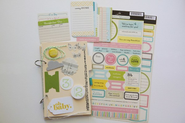 Pregnancy/Baby Mini Album Kits