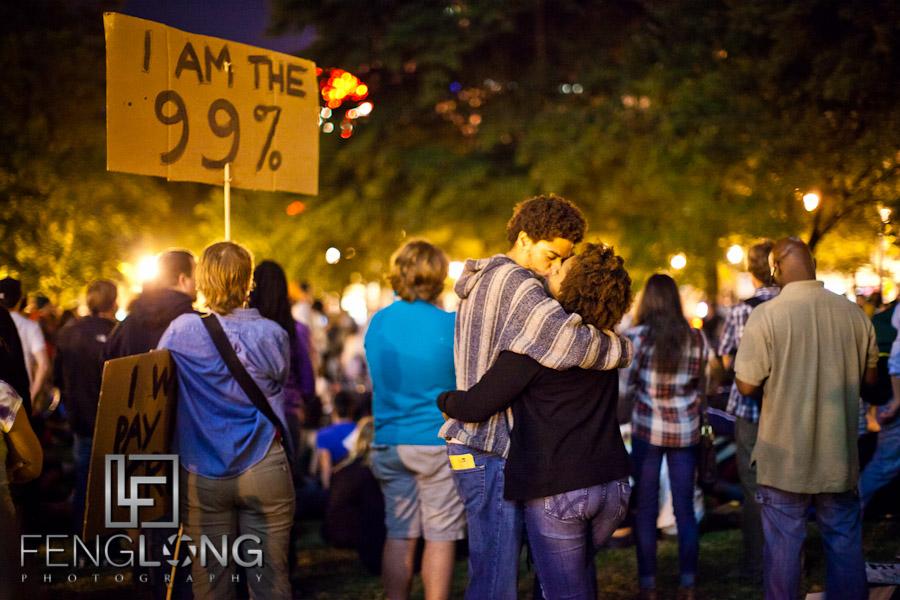 I am the 99%   #OccupyAtlanta General Assembly Woodruff Park 10/07 Occupy Atlanta #OccupyWallStreet