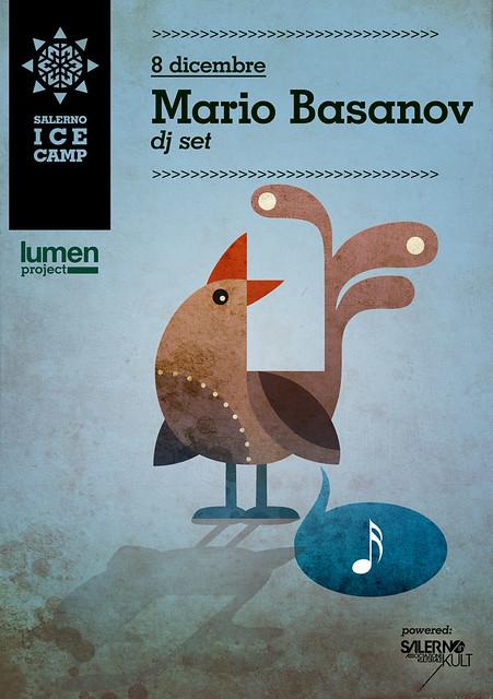 Mario Basanov - dj set - 8 dicembre (salerno ice camp pista di pattinaggio su ghiaccio)