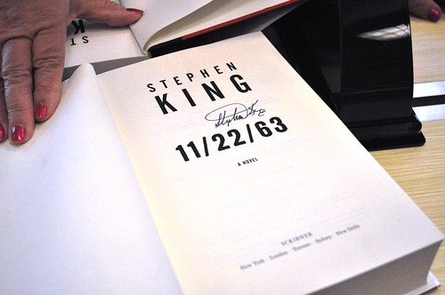 Stephen King 11/22/63 Book Signing in Sarasota, Fla., Nov. 14, 2011