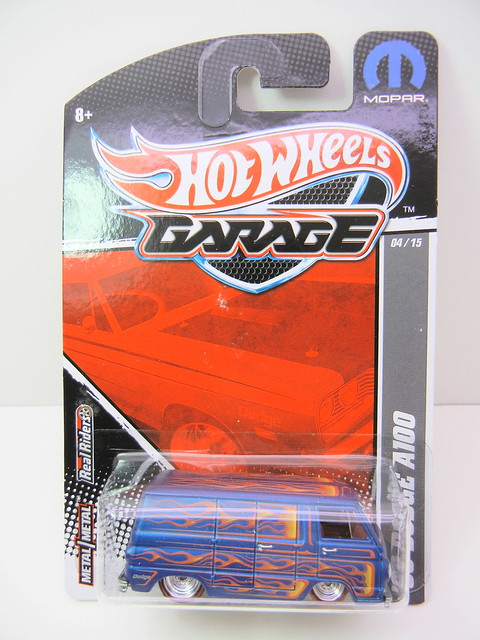 hot wheels garage '66 Dodge A100 (1)