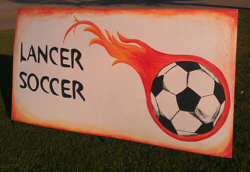 Lancer Soccer - Great Sign by ROIHUNTER
