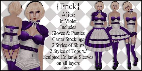 Alice in Violet - Ad