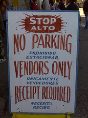 """No Parking, Austin, TX • <a style=""""font-size:0.8em;"""" href=""""http://www.flickr.com/photos/41570466@N04/6267297578/"""" target=""""_blank"""">View on Flickr</a>"""