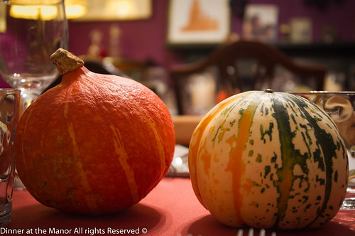 Dinner At the Manor Leeds Pumpkins