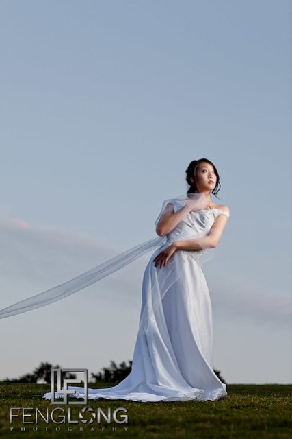 Alice's Bridal Portrait Glamour Session | Piedmont Park | Atlanta Wedding Photographer