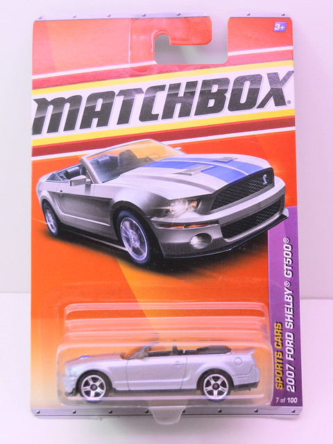 matchbox 2007 ford shelby gt500 silver (1)