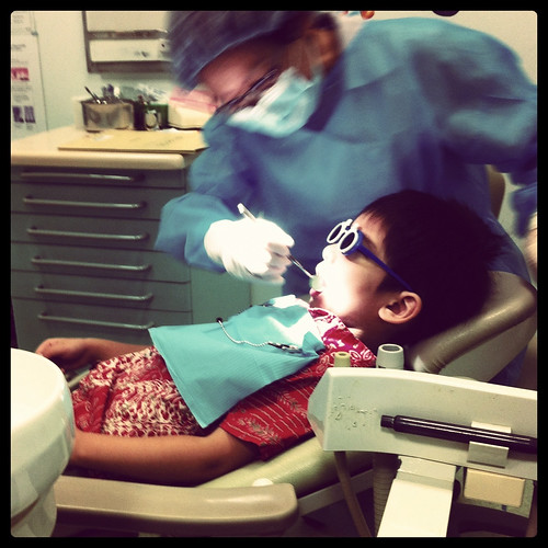First dental visit