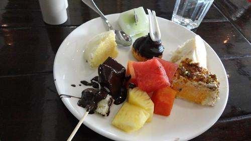 Dessert at Cafe Masala