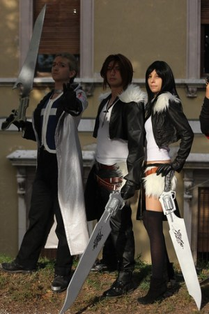 Seifer, Squall, female Squall cosplay