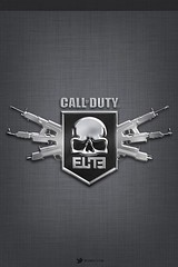 iOS 5 Textured Call of Duty Elite Wallpaper