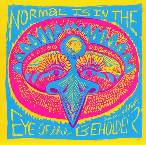 """normal"" print/mask"
