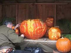 Carving Jack O Lantern
