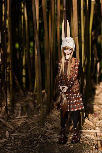 Shizuko & bamboo