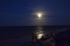 Moon over water 2