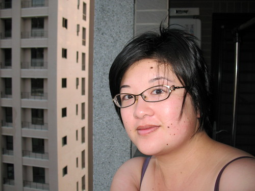 Me on my first morning in Taiwan