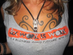 """sex work is work. it is a business doing..."