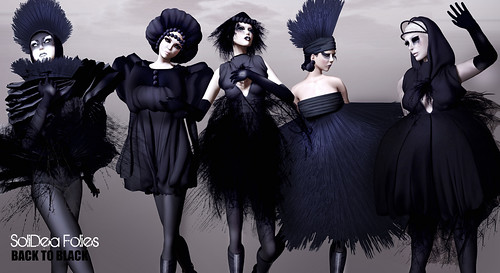 INVITE/Back To Black *New Collection & Opening Party @ MODAVIA by Ananya Mai ♛Angel Dessous 2011