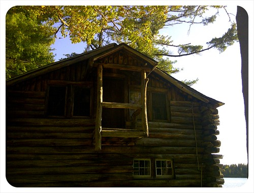 cabin, Rudd Pond State Park