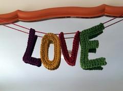Love, Crochet Letters