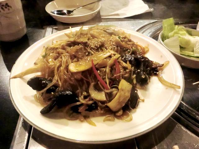 kfood chapchae